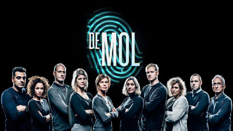 De nieuwe kandidaten van 'De mol'. Beeld RV