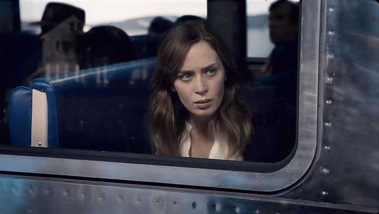 Een beeld uit de film The Girl on the Train.
