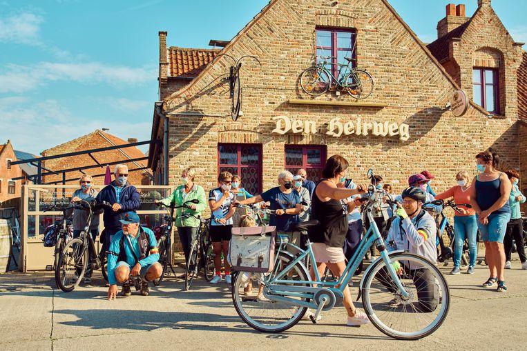Fietsclub Den Heirweg Fun. Beeld Thomas Nolf