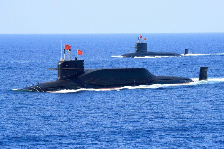 Chinese onderzeeërs. Beeld REUTERS