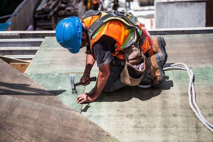 Als bouwvakker komt een goede conditie doorgaans erg van pas.