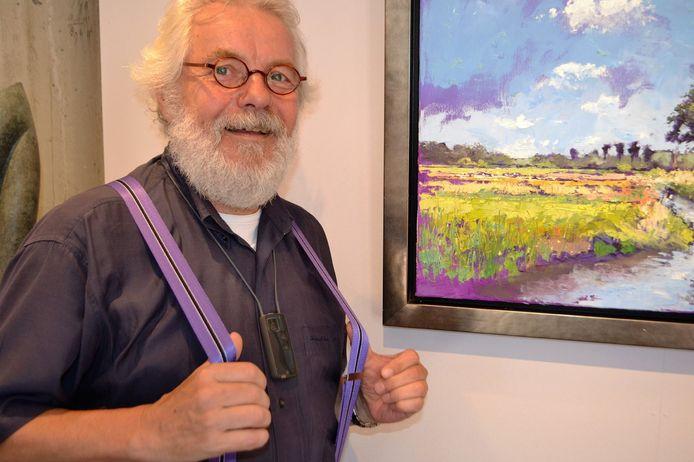 Johannes Dollen, nog tot eind dit jaar galeriehouder in Wierden