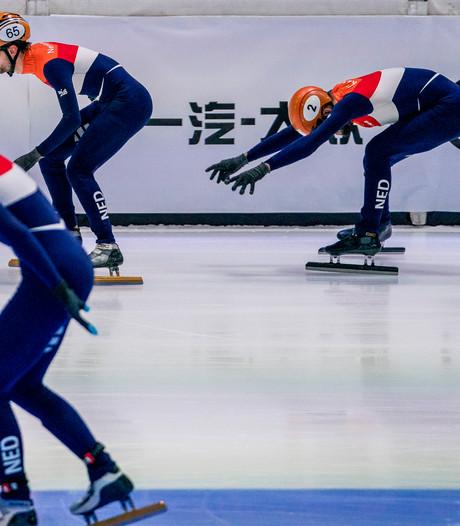 Knegt helpt relayteam naar finale