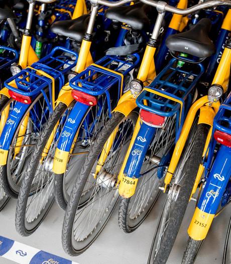 Bijna half miljoen ritjes op ov-fiets vanaf Amsterdam CS