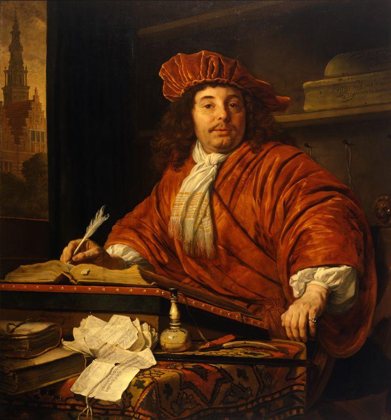 Portret van Daniel Bernard, 1669, van Bartholomeus van der Helst. Beeld Museum Boijmans Van Beuningen