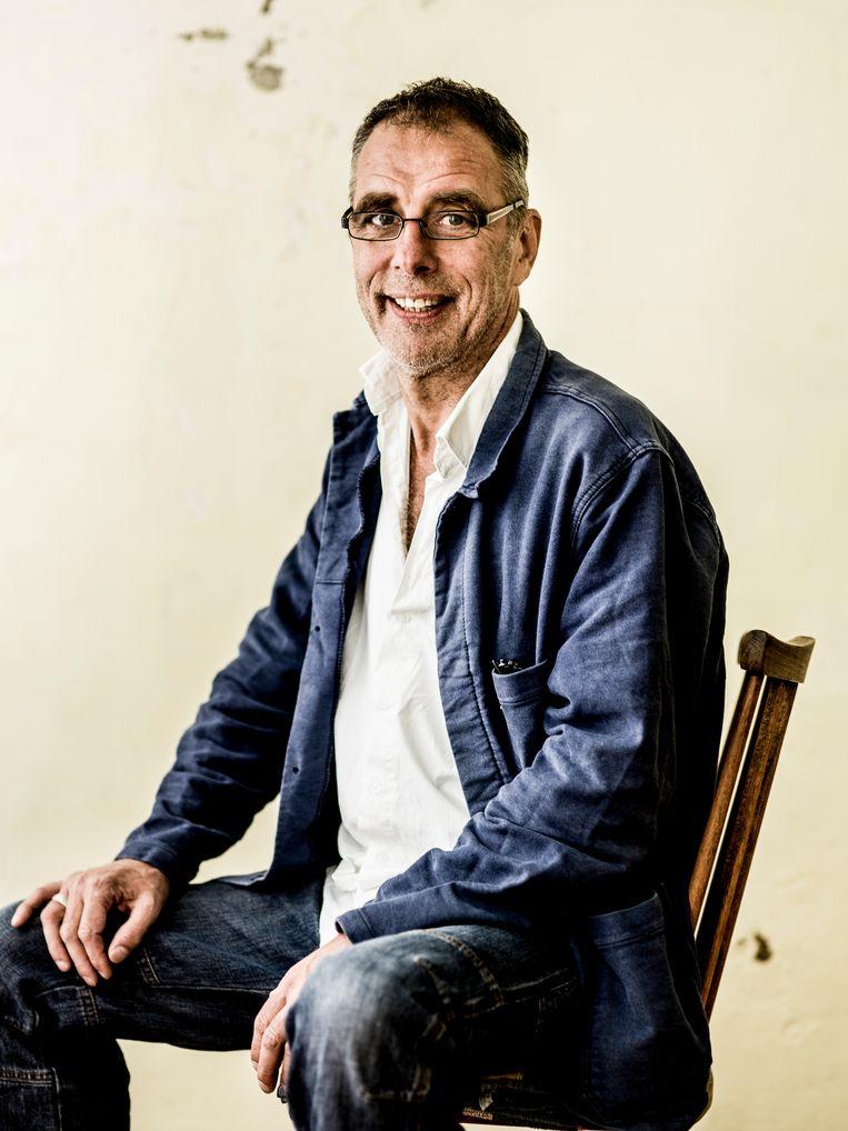 Peter De Graef: 'Ik heb zo'n kindertijd gehad dat, als ik een moord zou plegen, een beetje advocaat me vrij zou weten te lullen.' Beeld Humo / Johan Jacobs