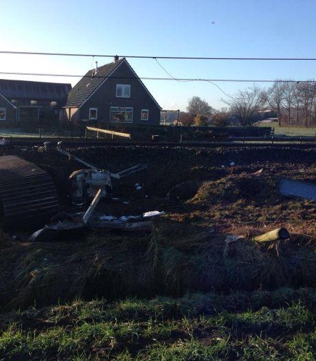 Dalfsen: machinist overlijdt na treinongeluk