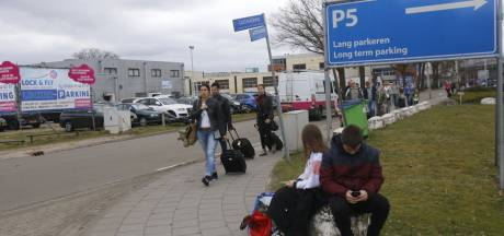 Omleidingen rond ingestorte garage Eindhoven Airport opgeheven