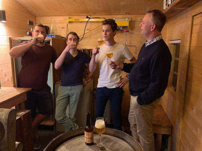De mannen van FoxTown Beer Crew.