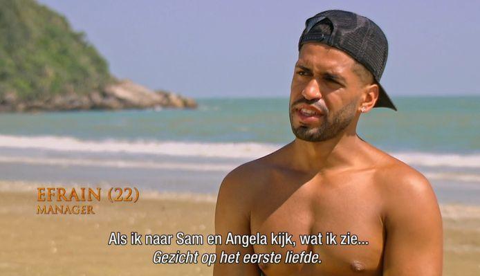 Efrain deed deze uitspraak tijdens z'n passage als verleider op 'Temptation Island'.