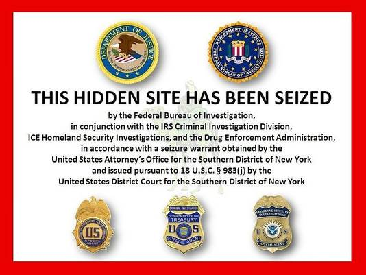 In oktober 2013 sloot de FBI de site Silk Road.