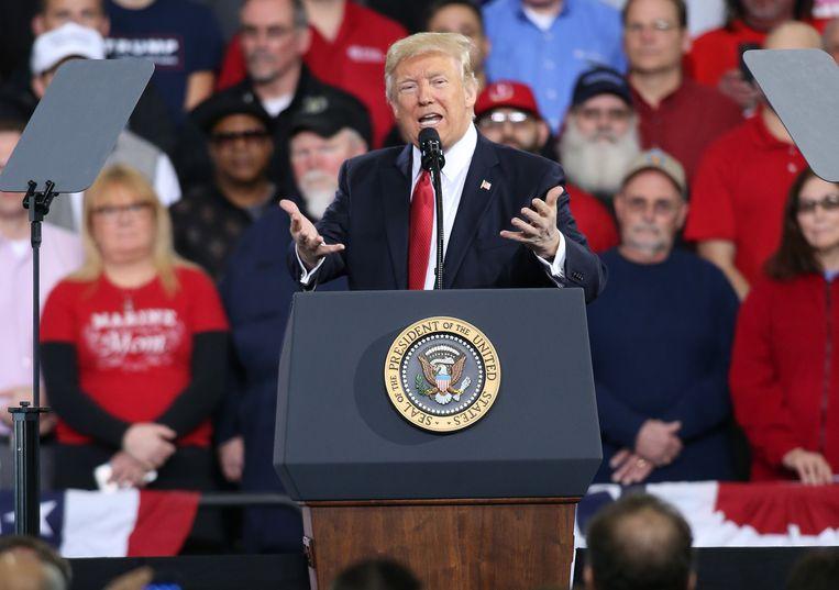 President Donald J. Trump.  Beeld EPA