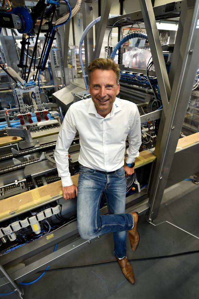 """Martin Prakken in zijn fabriek in Woerden: """"Mijn vader en ik hadden soms behoorlijke ruzies.''"""