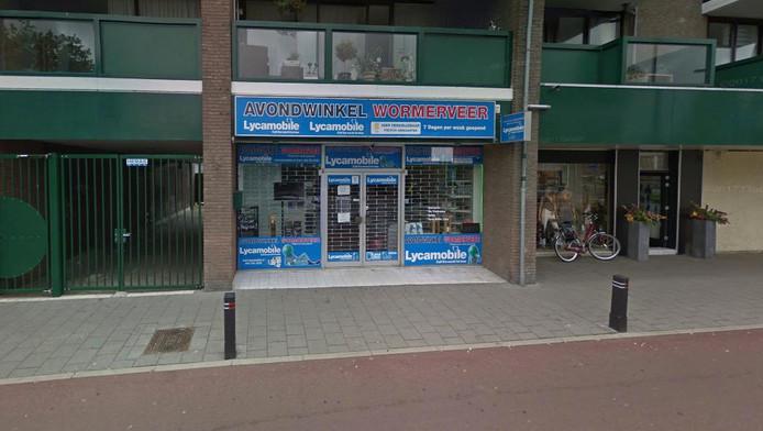 amsterdammer gepakt voor overval avondwinkel wormerveer | amsterdam