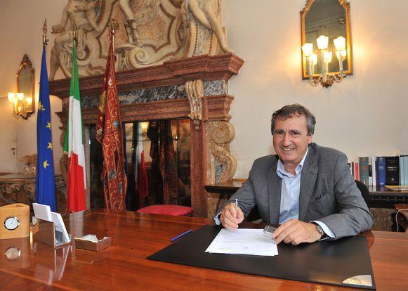 Burgermeester Luigi Brugnaro.