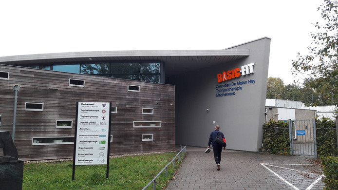 Het fitnesscentrum in De Molen Hey in Schijndel is overgenomen door Basic-Fit.