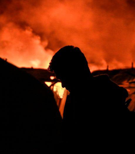 13.000 vluchtelingen op straat na verwoestende brand in kamp op Lesbos