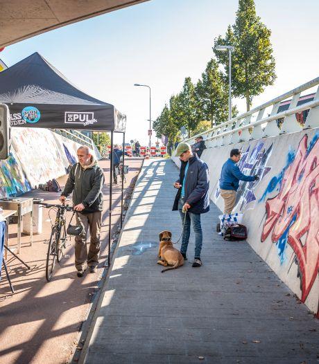 Uden heeft eindelijk een plek om legaal graffiti te spuiten