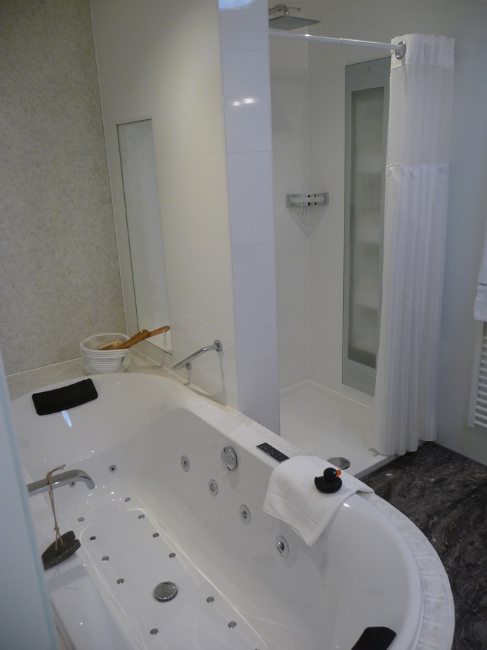 Badkamer in penthouse