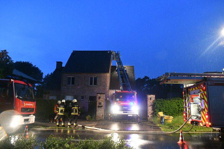 De brand in Zoersel