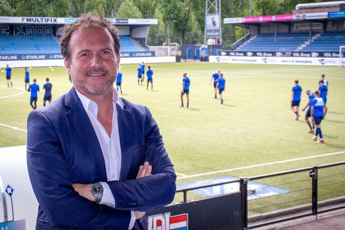 Marc Scheepers, technisch manager van FC Eindhoven