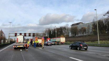 Ongeval op Antwerpse ring: drie rijstroken tijdlang afgesloten in Borgerhout