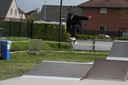 Stunten op het skatepark