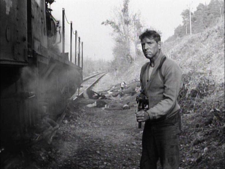 Burt Lancaster in The Train. Beeld