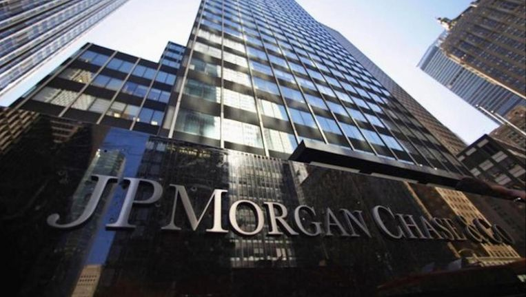 Het hoofdkantoor van JPMorgan in New York Beeld anp