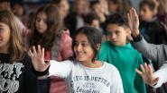 Rode Neuzen Dag schooltour start in Maasmechelen