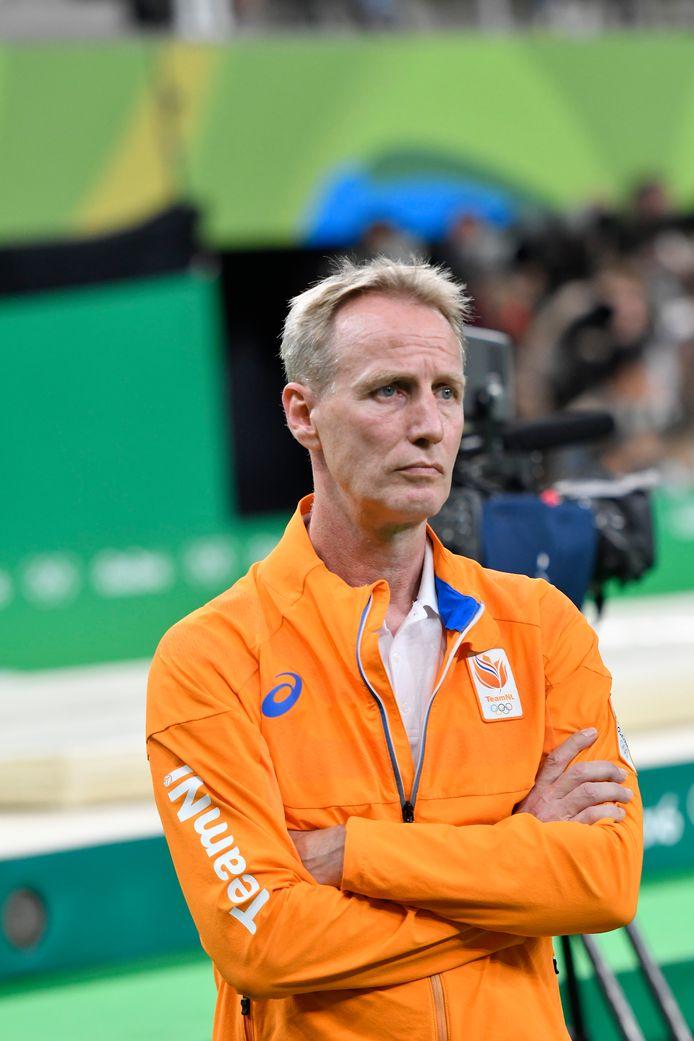 Vincent Wevers op de voor het turnen succesvolle Olympische Spelen in Rio 2016.