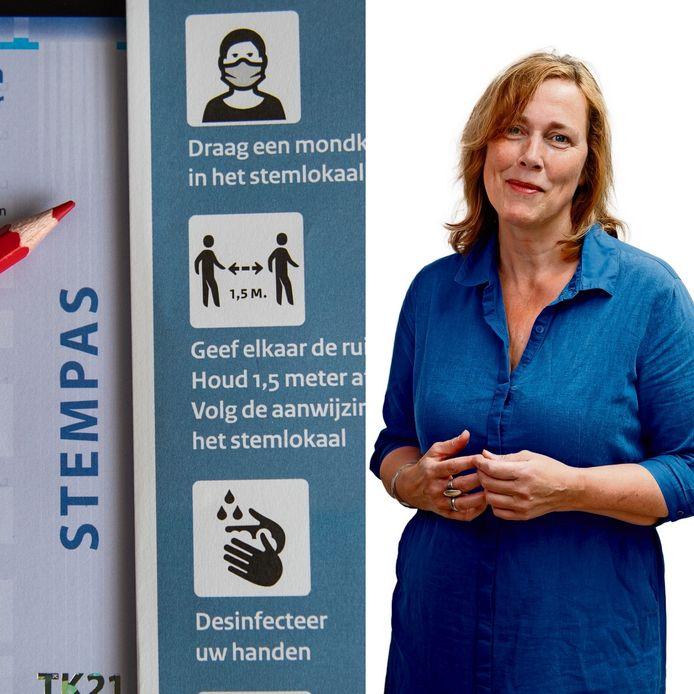 Column Yolanda Sjoukes Verkiezingen Tweede Kamer Stemmen Stembureau Meetellen Fraude Corona