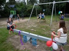 Volop vertier in volledig vernieuwde speeltuin in Groessen