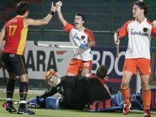 Debuut van 'de Van Bommel met hockeystick' Marcel Balkestein in Oranje