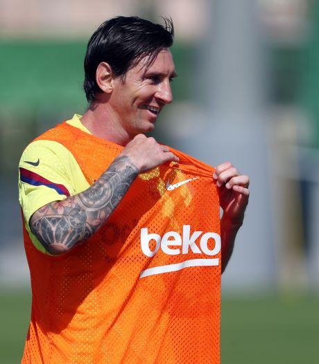"Selon Lionel Messi, la reprise sera ""comme repartir à zéro"""