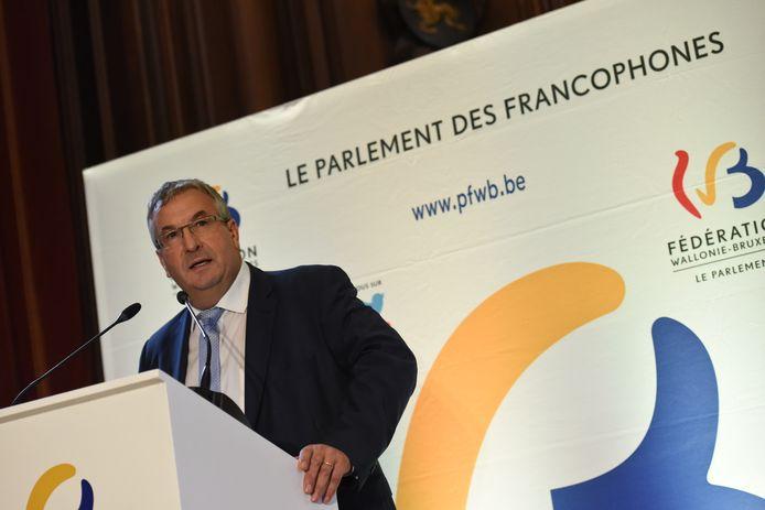 Le ministre-président Pierre-Yves Jeholet (MR)
