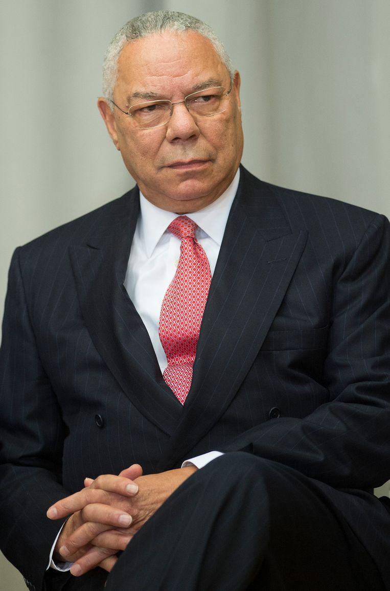 Colin Powell. Beeld AFP