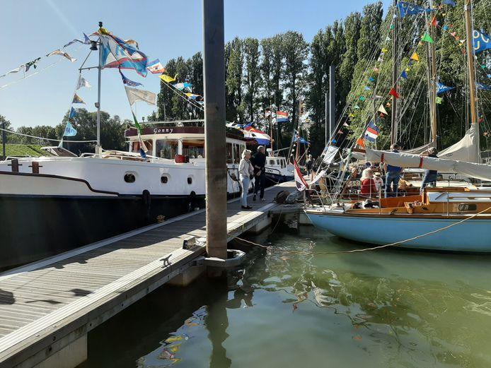 Op de Doesburgse Kadedagen 2019 zijn veel bootjes te bewonderen.