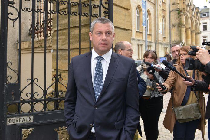 Dimitri Fourny, hoofdbeschuldigde in de zaak rond de kiesfraude in Neufchâteau.