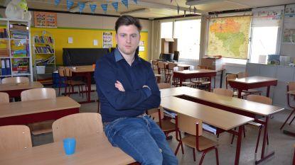 """Meester Bart (28) van Stedelijke Basisschool Eksaarde luidt alarmbel: """"Faliekant tegen staken, maar nu zie ik geen andere optie"""""""
