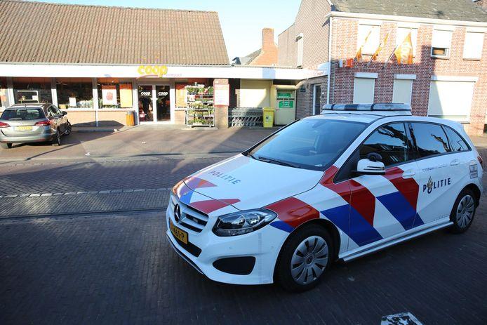 Overval supermarkt Huijbergen
