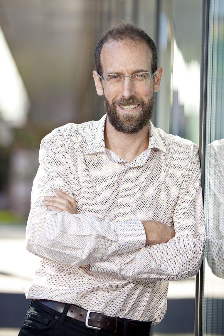 Professor David Keith. Beeld rv