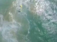 Hulp van boven voor afgedreven tieners in oceaan