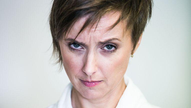 Annelies Beck over media en zonde. Beeld Bas Bogaerts