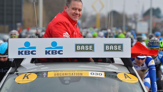 Koersdirecteur Wim Van Herreweghe
