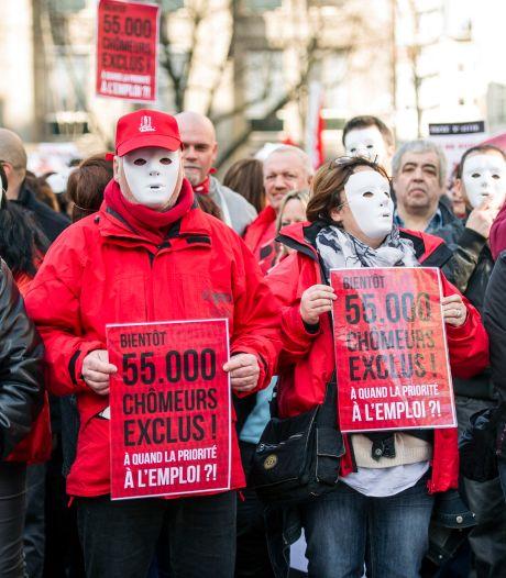 Chômeurs exclus: 15.000 manifestants dans une dizaine de villes