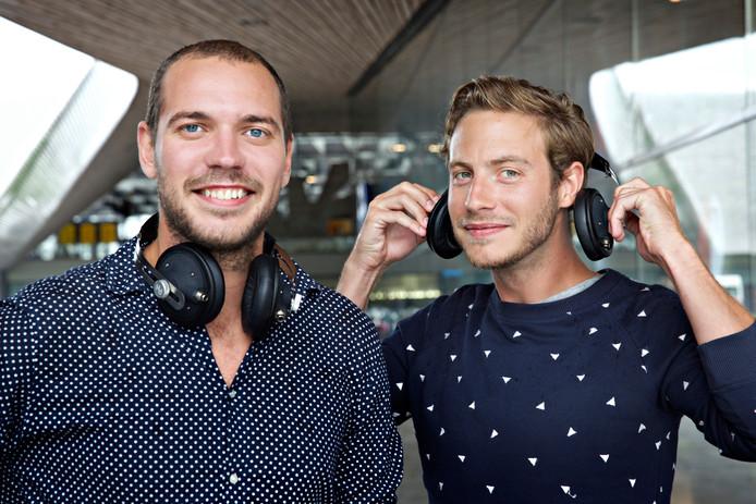 Tom Leenders (links) en Dorus Galama van Gerrard Street.