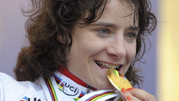 Vos werd in januari ook nog wereldkampioen veldrijden. Beeld ANP