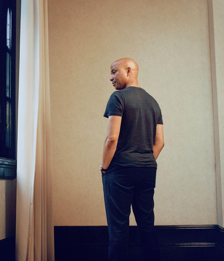 Humberto Tan. Beeld Passian Smit/ Met dank aan The College Hotel en Mondi Amsterdam voor de locatie