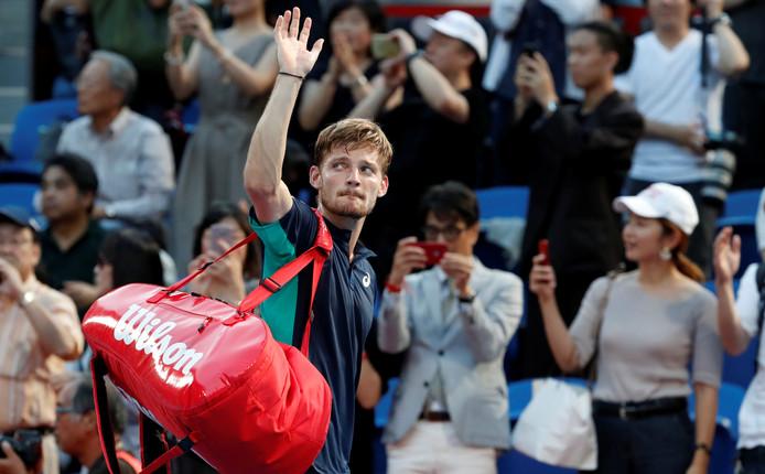 David Goffin est plus que jamais en course pour une troisième participation (en quatre ans) au Masters de fin d'année.